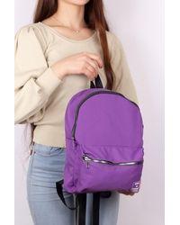 Bold Pocket Purple Sport Backpack