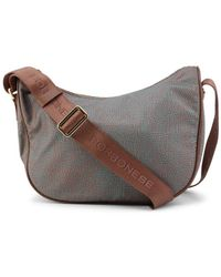 Borbonese Crossbody Bag - Brown