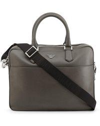 Emporio Armani Briefcases Gray Y4p082-yaq2e