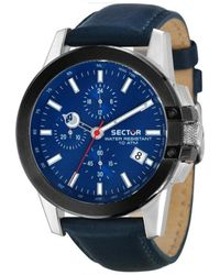 Sector Navy Blue Chronograph Quartz Watch