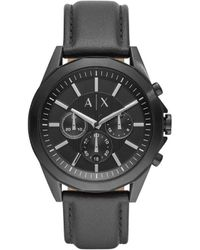Armani Exchange Black Chronograph Quartz Watch