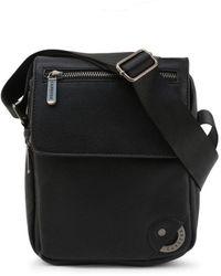 Carrera Jeans Black Brixton Messenger Bag