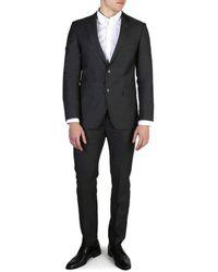 Tommy Hilfiger Gray Slim Fit Suit