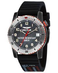 Sector Black Quartz Watch
