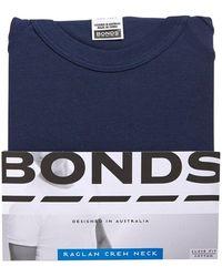 Bonds Original Raglan Tee - Blue