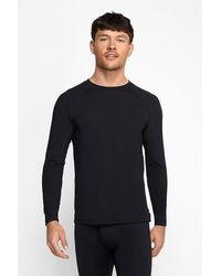Bonds Thermal Crew Long Sleeve Top - White