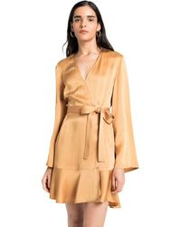 A.L.C. | Whitney Wrap Dress | Lyst