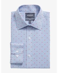 Bonobos Daily Grind Wrinkle Free Dress Shirt Limited Edition - Blue