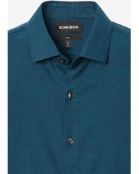 Bonobos Unbutton Down Shirt Extended Sizes - Blue