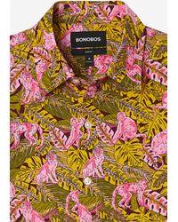 Bonobos Riviera Short Sleeve Shirt - Multicolor