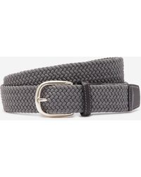 Bonobos The Clubhouse Stretch Belt - Gray