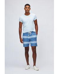 Bonobos Beach Sweat Shorts - Blue