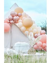 Boohoo Ginger Ray Rose Gold And Nude Balloon Arch - Pink
