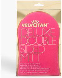 Boohoo Velvotan Luxury Double Sized Mitt - Pink
