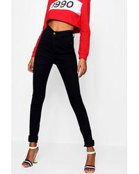 Boohoo Tall 5 Pocket Stretch Skinny Jeans - Black