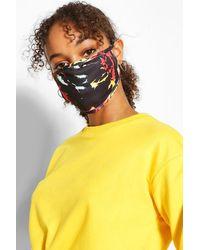Boohoo Tie Dye Fashion Face Mask 2 Pack - Multicolour