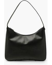 Boohoo Pu Underarm Shoulder Bag - Black