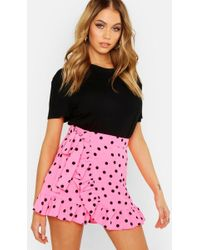 4aaf09e7c Lyst - Boohoo Zaine Mini Tulle Full Skirt in Pink