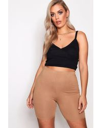 Boohoo Plus Jersey Cycle Short - Multicolour