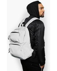 c212ebe6ff Boohoo Black Roll Up Backpack in Black for Men - Lyst