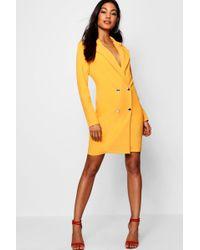 Boohoo - Blazer Dress - Lyst