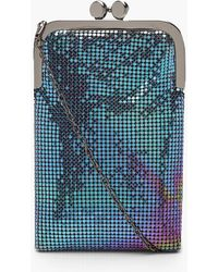 Boohoo Womens Premium Chainmail Clutch Bag - Multi - One Size - Multicolour