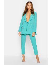 Boohoo - Womens Tailored Pants - Lyst