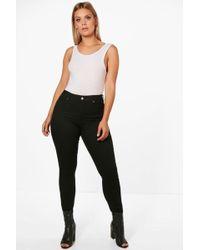 Boohoo | Plus Niamh Stretch Skinny Jean | Lyst