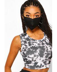 Boohoo 4 Pack Face Masks - Black