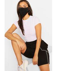 Boohoo Womens Fashion Gesichtsmaske - Schwarz