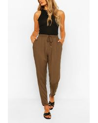 Boohoo Relaxed Fit Casual Jogger - Green
