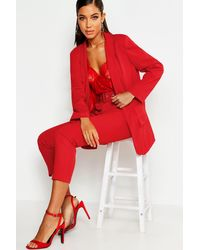 Boohoo Womens Tailored Blazer