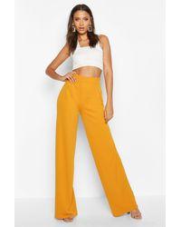 Boohoo - Tall Wide Leg Pants - Lyst