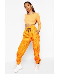 Boohoo Pantalones De Chándal - Naranja
