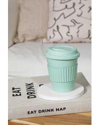 Boohoo Bamboo Coffee Cup - Green