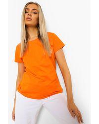Boohoo Camiseta Básica - Naranja