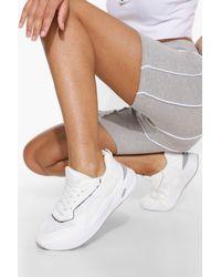 Boohoo Womens Chunky Contrast Trainer - Weiß
