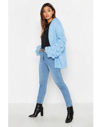 Boohoo - Premium Hand Knitted Cardigan - Lyst