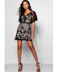 Boohoo - Boutique All Over Lace Bodycon Dress - Lyst
