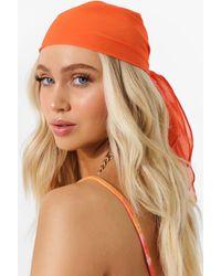 Boohoo - Chiffon Headscarf - Lyst