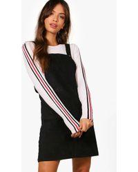 fa0f4473c0b8 Lyst - Boohoo Penny Polkadot Long Sleeve Midi Dress in White
