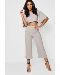a5e52601aab068 Lyst - Boohoo Tall Mia Off The Shoulder Top & Legging Lounge Set in ...
