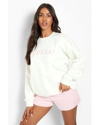 Boohoo Official Collection Embroidered Short Tracksuit - Pink