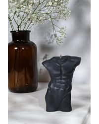 Boohoo Masculine Torso Candle - Black