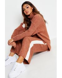 Boohoo Premium Knitted Sports Athleisure Set - Multicolour