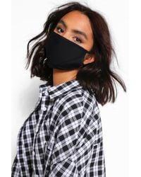 Boohoo Mixed Fashion Face Mask 3 Pack - Black