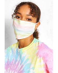 Boohoo Rainbow Fashion Face Mask 2 Pack - Multicolour