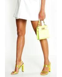 Doubles Chaussures À Brides Transparentes Multicolore thrdxsQC