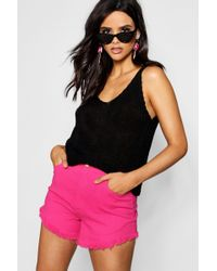 Boohoo - Knitted Cami - Lyst