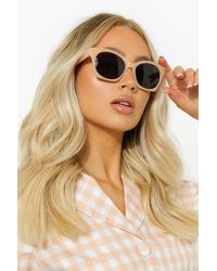 Boohoo Womens Getönte Klassische Sonnenbrille - Mehrfarbig